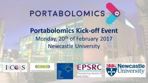 Portabolomics Kick-off